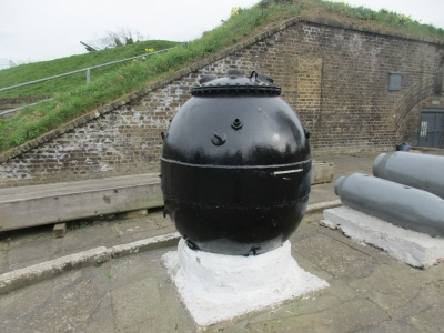 One of the 'controls' at Gravesend, Source:Heather Brown