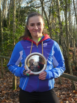 #ffion with the trophy, Source:Rowan Purkis