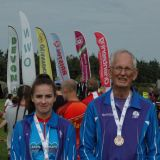 Saxons medallists Ffion & Jeremy, Source:Neil Bricknell