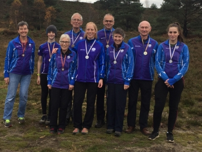 Saxons winners at SE long distance Champs, Source:Neil Bricknell