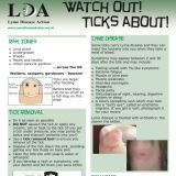 Watch out! Ticks about!, Source:LDA