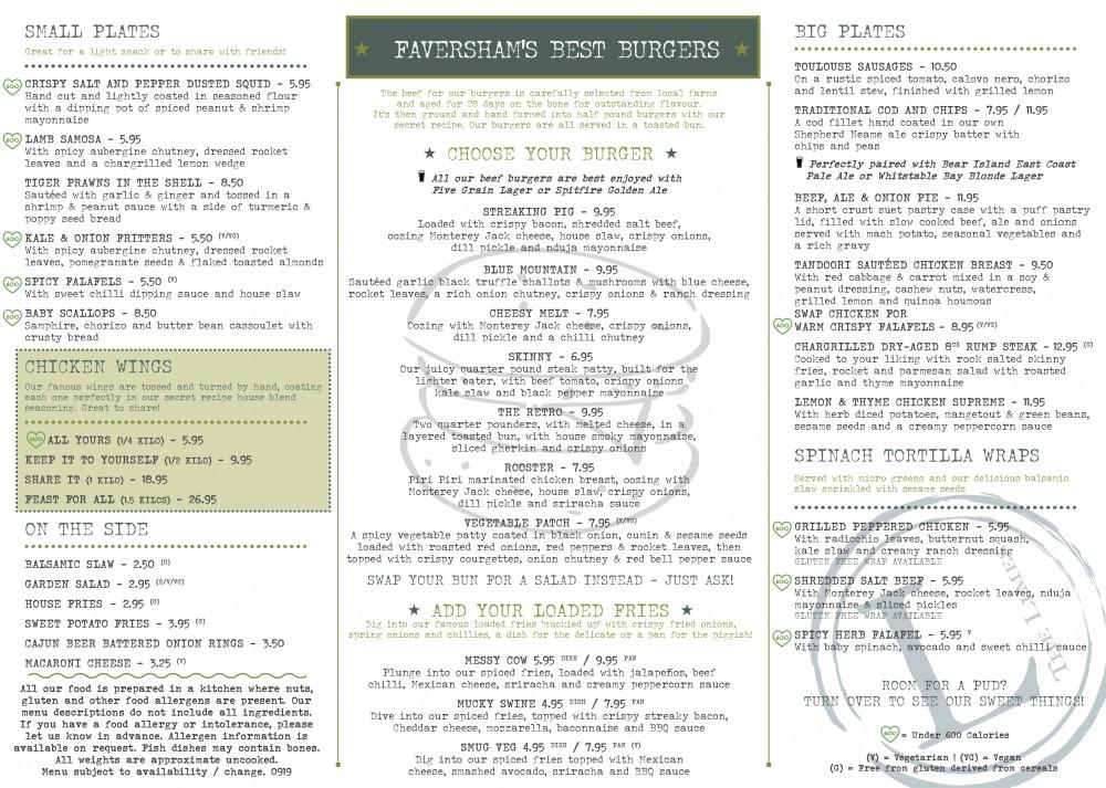 Apres O menu